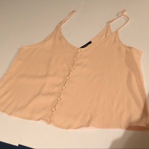 Baby Pink Button Camisole